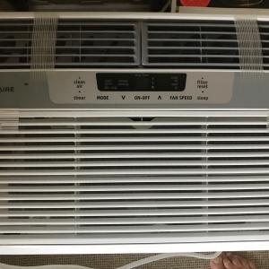 Photo of 8000 BTU  Frigidaire window air conditioner