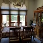 Dining room table and hutch + buffet