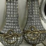 Pair French style Wall Sconces