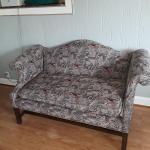 Nice Loveseat reversible cushion