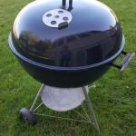 "Large Weber 22"" Black Kettle grill"