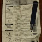PushMaster Picture Frame Joiner with instruction sheet (Used)