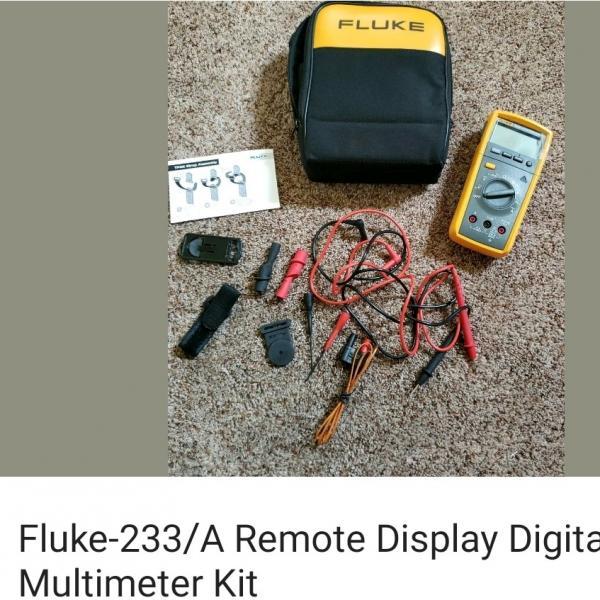 Photo of Fluke-233/A Remote Display Digital Multimeter Kit