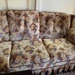 Older 60's/70's chair and couch