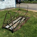 Snowmobile utility sled