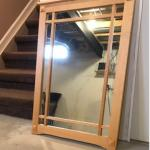 Solid Maple Mirror