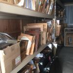 Hundreds of new, unused picture frames