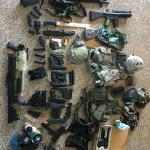 Airsoft Gear and Gun Aresenal