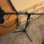 Condensor Microphone + USB Connection
