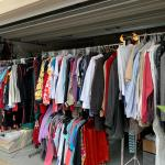 CLOTHING AND KIDS BOOKS
