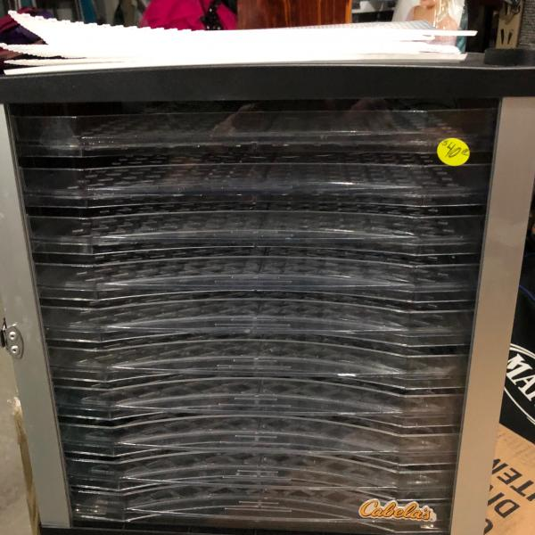 Photo of Cabelas 10 tray dehydrater