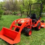 26 hp Tractor Loader 4x4 Mower