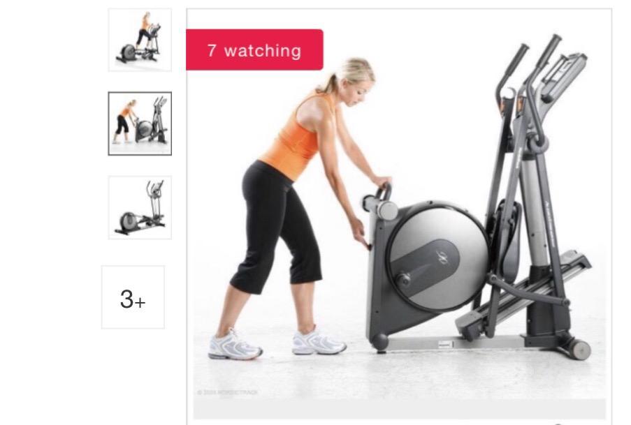 Photo 3 of Elliptical Exercise Machine