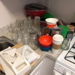 Various kitchen supplies