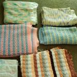 Hand made baby blankets.