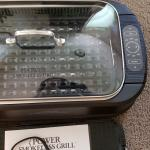 Power Smokeless Grill w/Griddle