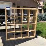 4 x 4 cube book case