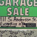YARD SALE EXTENDED!!