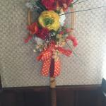 Tennis racket wreath