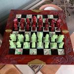 Vintage Asian Immortals Dragon Chess Set