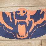 Chicago Bears  mask !