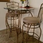 elegant Bistro Table Set