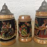 Collectors Authentic German Steins