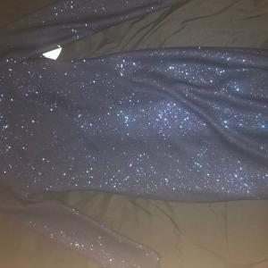 Photo of Navy blue party dress