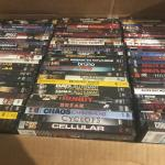 Lot of 550 Used ASSORTED DVD Movies