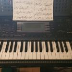 Yamaha PSR 630 keyboard  with stand