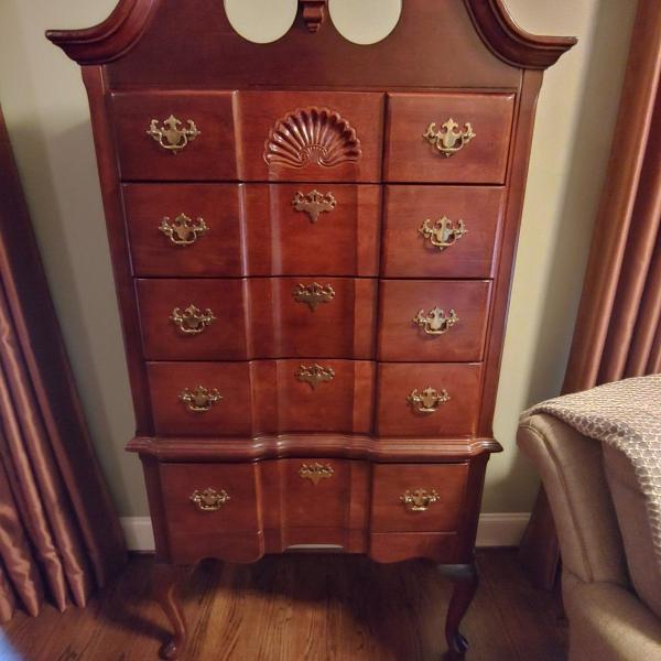 Photo of Highboy Gentlemans Dresser