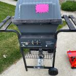 CHAR BROIL GRILL USED