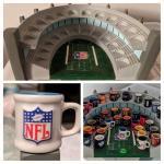 NFL mini decorative mugs