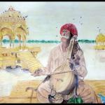 Indian Rajasthani sketch