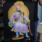 Chhatrapati Shivaji Maharaj handmade paining