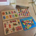 Kids Four Pack Jigsaw Puzzle