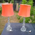 Two Deco Lamps ($20 for both)
