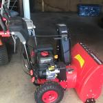 New power mart Snowblower