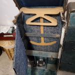 Vintage Wardrobe Steamer Trunk