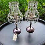 Chandelier style tea lights