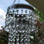 Hanging chandelier tealight