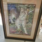 'A Cat Named Bob' Bobcat print