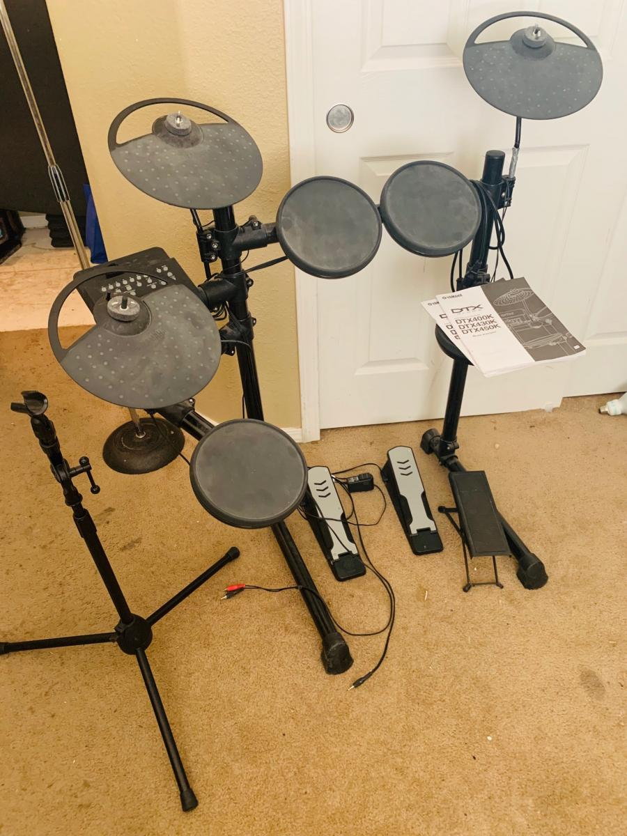Photo 3 of Yamaha DTX Electric Drums
