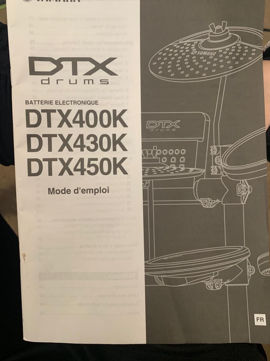 Photo 1 of Yamaha DTX Electric Drums