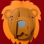 Lion 3D puzzle