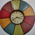"Living room Multi-Color 20"" Living room wall clock"