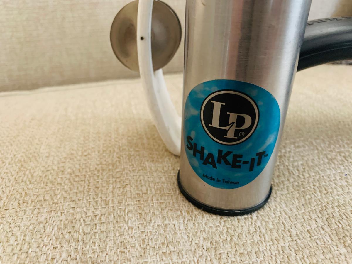 Photo 1 of Tambourine and LP shaker