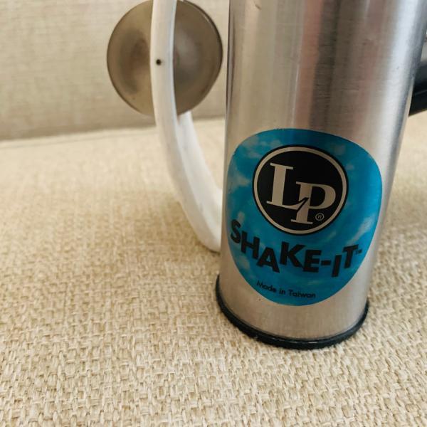 Photo of Tambourine and LP shaker