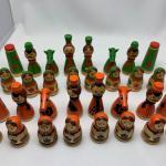VTG Russian Matryoshka Doll Chess Set