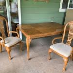 Family size table and chairs